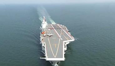《今日关注》 20201029 中国首艘国产航母完成海试训练 亚洲多国布局航母战略
