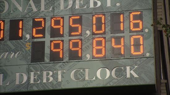 美国国债钟