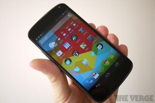 APQ8064四核+2GB运存Nexus4上手体验