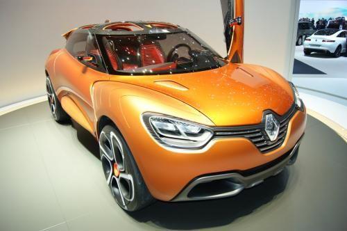 科技感十足 雷诺Captur概念车亮相车展