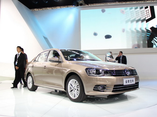 2012广州车展 大众新宝来正式首发亮相