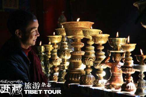 甘丹寺的僧人