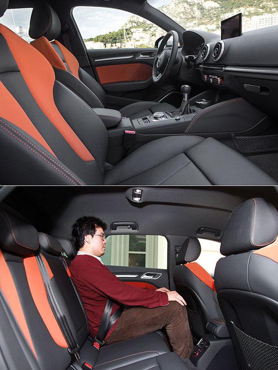 海外试驾2013款奥迪A3 重塑时尚的定义(3)