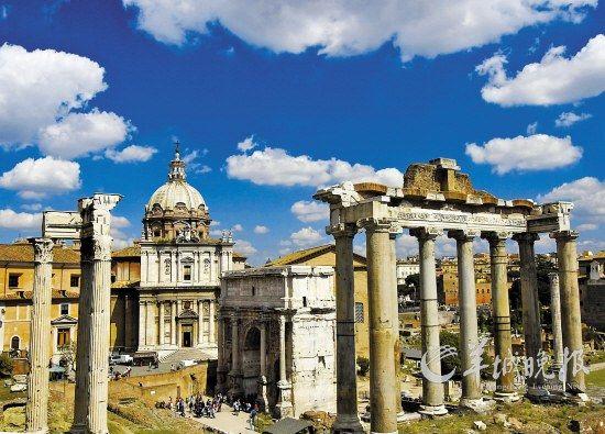 意大利古罗马广场