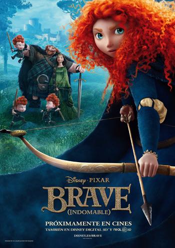 《勇敢的传说》海报