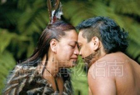 碰鼻礼是毛利人的独特习俗