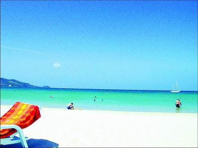 阳光、沙滩、海浪,缺的只是仙人掌_心,遗留在了普吉岛_乐途旅游网