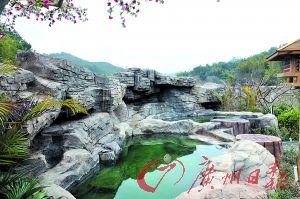 河源的叶园温泉