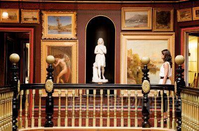 国家美术馆内收藏了大量各个时期的名作 图片/英国旅游局