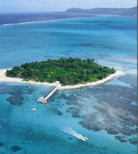 塞班的军舰岛