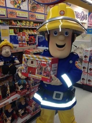 《消防员山姆》周边衍生产品销售火爆