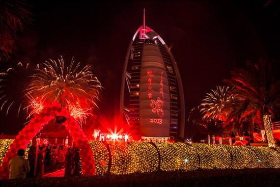 卓美亚帆船酒店2013年新年盛典