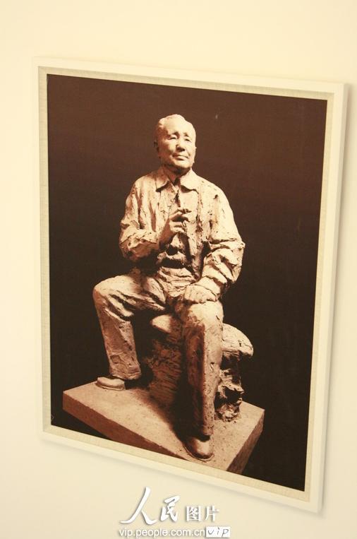 聂承兴艺术雕塑展北京展出