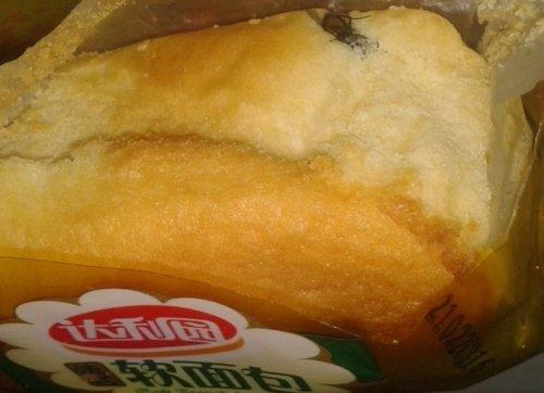 达利园软面包被曝吃出苍蝇 厂家多次推脱(图)