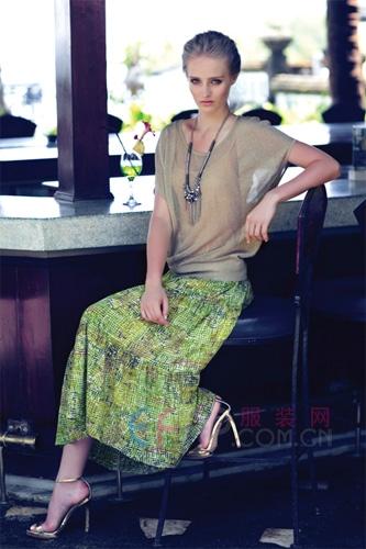 马天奴2013春夏新品女装之一