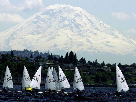 山水如画的西雅图
