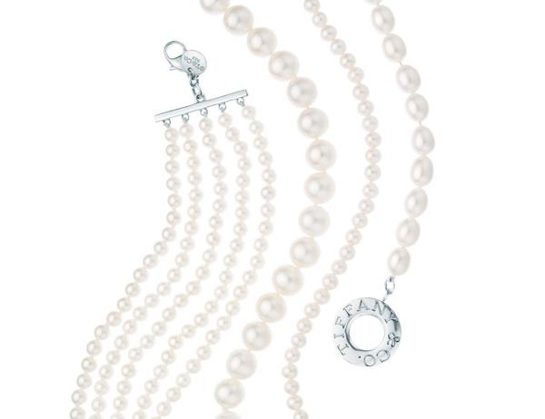 经济 奢侈品     蒂芙尼(tiffany &co)victoria系列的吊坠和耳环由