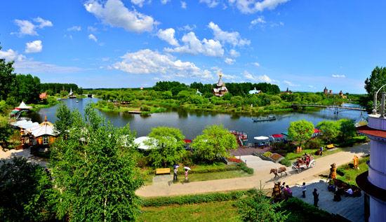 美丽的伏尔加庄园