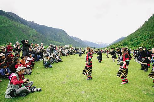 林芝米林第七届黄牡丹文化旅游节即将开幕