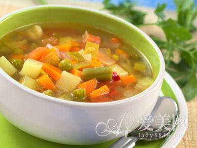 五行蔬菜各显其能 一碗汤提高你的免疫力