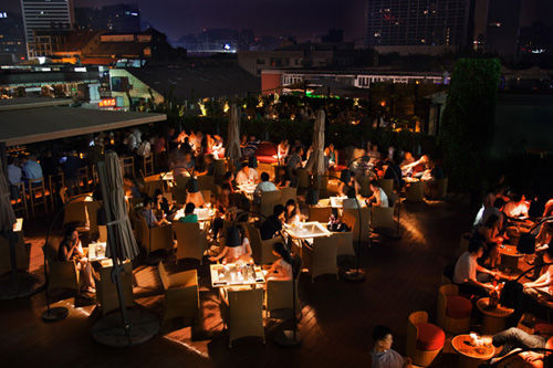 露台上的夏天 北京乘凉观景用餐好地方