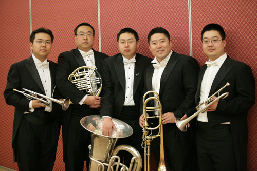 乐团CNSO 铜管五重奏音乐会