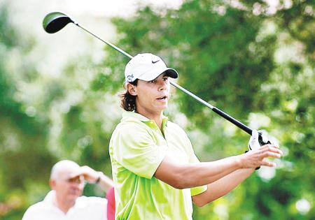 纳达尔曾想打高尔夫