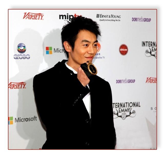 朱亞文憑借電視劇《遠去的飛鷹》入圍國際艾美獎最佳男演員獎項