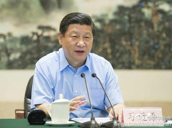 习近平在武汉主持召开湖北省领导干部座谈会