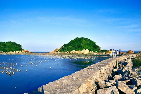 海岛海滩(小万摄)