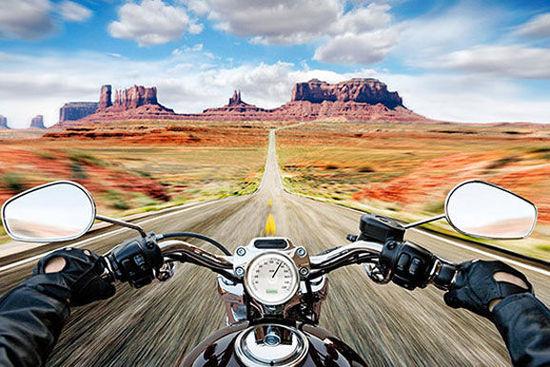 骑着摩托穿行美国 十大拉风路线