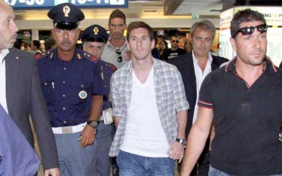 梅西无缘阿根廷跟意大利的友谊赛,已经返回巴萨