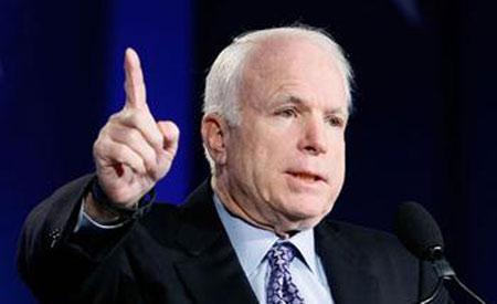 美国国会参议员麦凯恩称钓鱼岛是日本领土