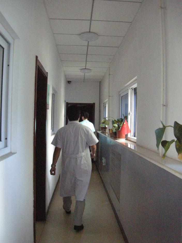 这个走廊通往取精室