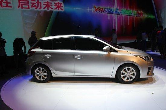 廣汽豐田YARiS L致炫-將上市合資兩廂車搶先看 時尚動感為主打高清圖片