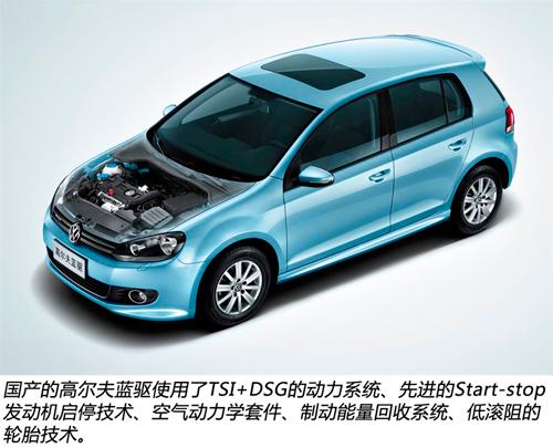 冰川蓝魅力 大众汽车蓝驱技术解读