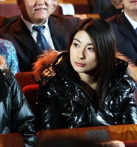 郭晶晶在2009年体坛风云人物颁奖盛典上。