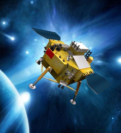 المسبار القمري الصيني تشانغ آه - 3 يحقق تعديل المسار الأول