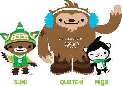2010年温哥华冬季奥运会和残奥会吉祥物