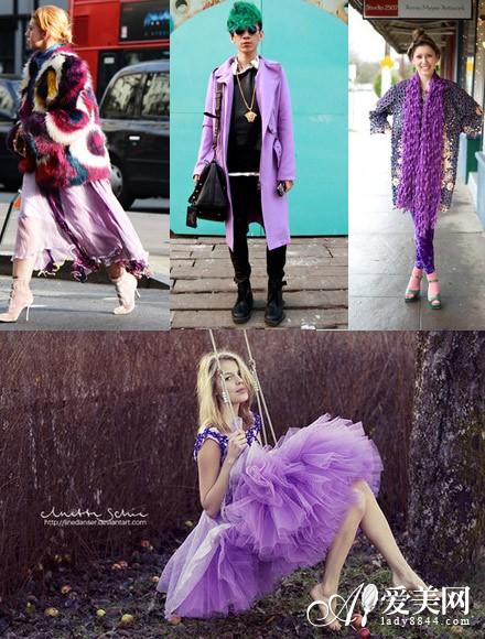 2014色彩潮流发布 兰花紫成大势