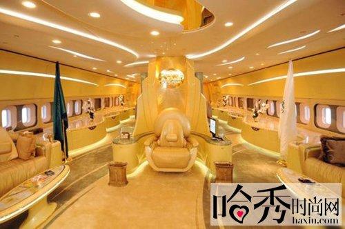 世界最大私人飞机豪华如宫殿