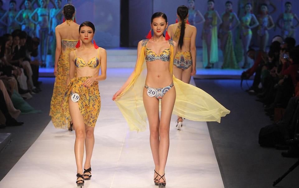 中国美泳装系列
