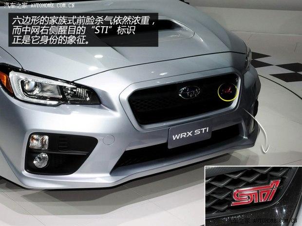 斯巴鲁斯巴鲁斯巴鲁WRX2015款 STI