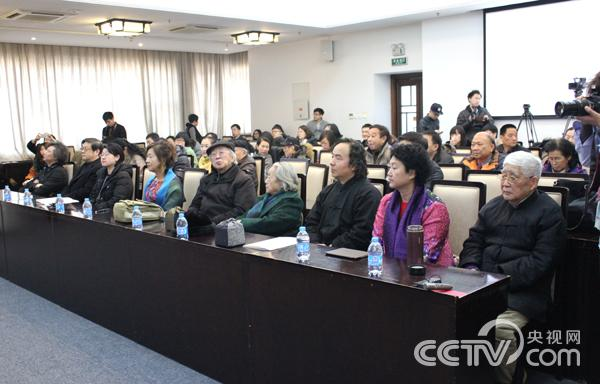 潘世勋、徐里、尚辉等嘉宾出席见面会。 韩丹 摄