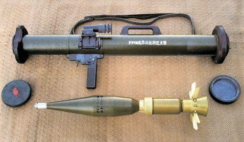 中国 火箭筒/中国SLM80灭火发射器首获订单似单兵火箭筒...