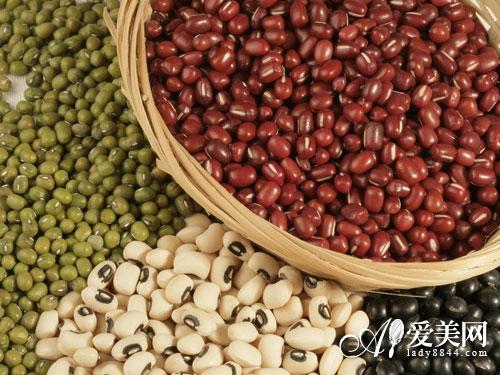 红豆补血润肤 6种豆类食品 养颜胜过护肤品