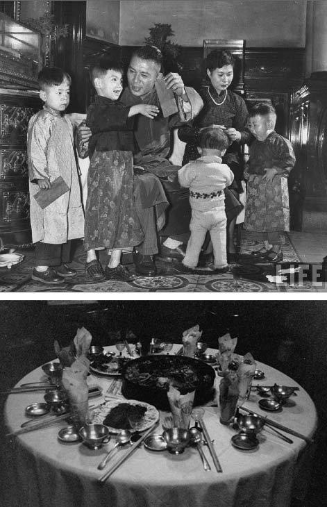 1954年中国一户陈姓人家的除夕夜