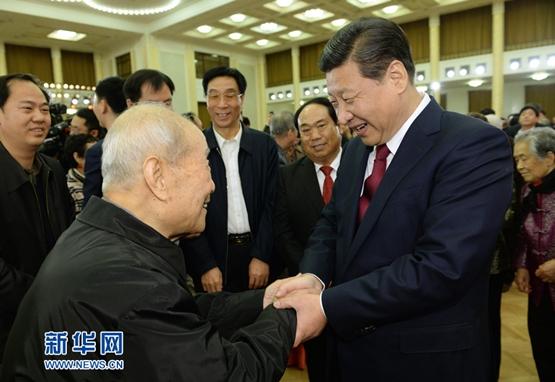 قادة الصين يحضرون حفل المعايدة المتبادلة بمناسبة عيد الربيع الصيني
