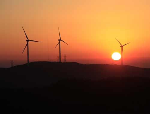 东山风电伴随和煦春风转动