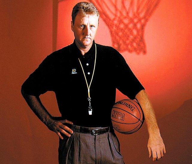 步行者队篮球事务主席拉里-伯德